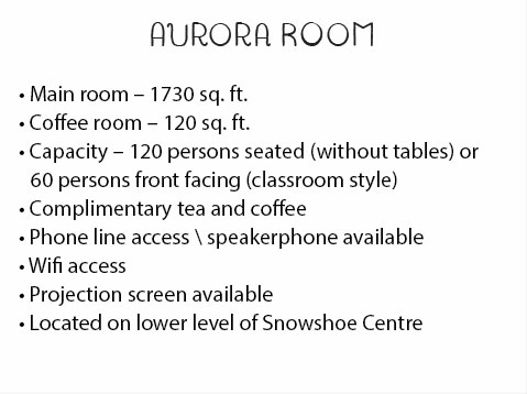 Aurora Room Description