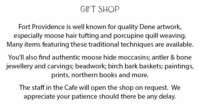 Gift Shop Description