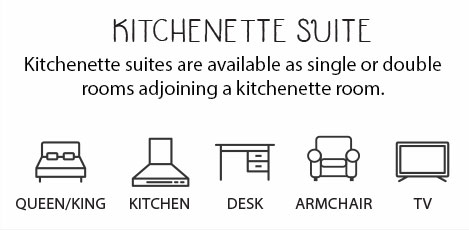 Kitchenette Suite Description