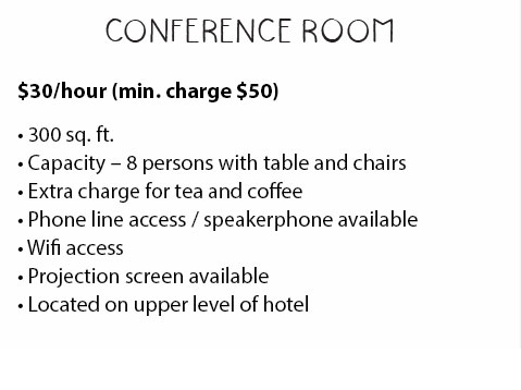 Conference Room Description